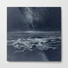 the Dreaming Ocean Metal Print