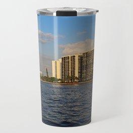 Shoreline in Fort Myers III Travel Mug