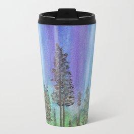 Alaskan Aurora Lights Travel Mug