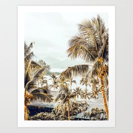 Island View #photography #tropical Art Print
