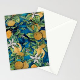 Orange Overload Stationery Cards