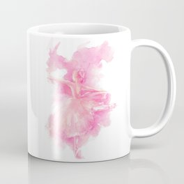 Ballerina in pink Coffee Mug