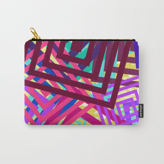 Abstract Geometrics Carry-All Pouch