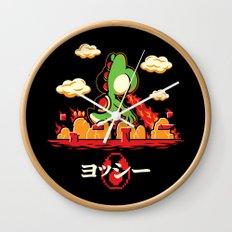 Yoshzilla Wall Clock