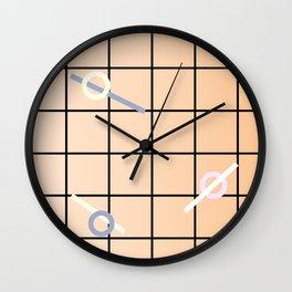Geometric Calendar - Day 7 Wall Clock