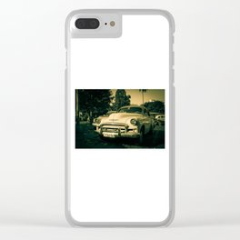 Ageing chevy Clear iPhone Case