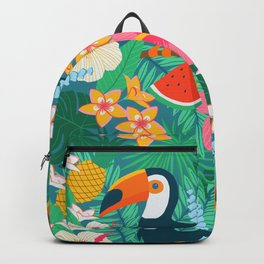 Tropical Flow Backpack