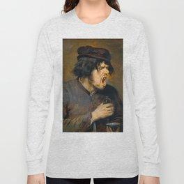 Adriaen Brouwer - The Bitter Potion Long Sleeve T-shirt