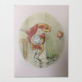 Jeremy Fisher by Beatrix Potter Canvas Print