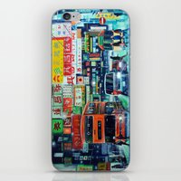 hong kong iPhone & iPod Skins featuring Hong Kong by Corrado Pizzi