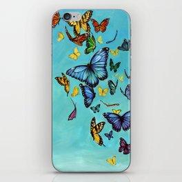 Butterflies iPhone Skin