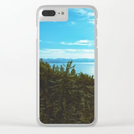 Endless Mapless Landscape Clear iPhone Case
