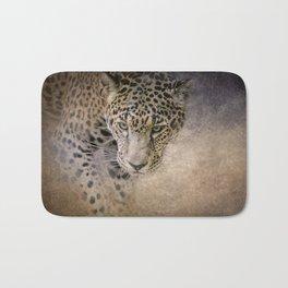 Stalking Her Prey - Wildlife - Leopard Bath Mat