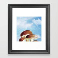 Mushroom Heaven Framed Art Print