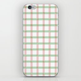 Oh Christmas Stripes iPhone Skin