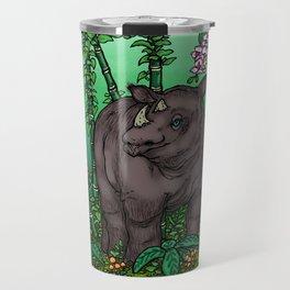 Sumatran Rhino Travel Mug