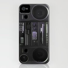 Boombox iPhone4 case (follow link below for iPhone5) Slim Case iPhone (4, 4s)