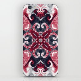 Hearts and Twisters iPhone Skin