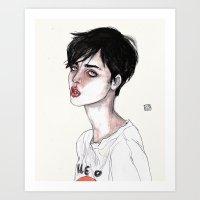 lucas david Art Prints featuring Lucas David's Fave by Lucas David