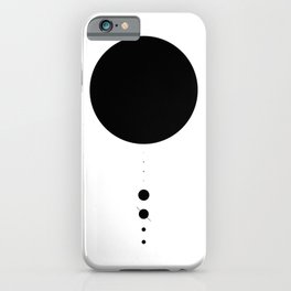 The Solar System (white) iPhone Case