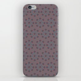 Douceur d'hiver, mauve/Sweetness of winter, purple iPhone Skin