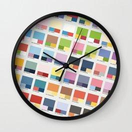 Poke-Pantone 2 (Johto Region) Wall Clock