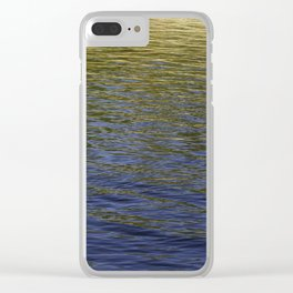 Colorful water at Lock 23 Clear iPhone Case