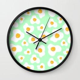 eggs #1 Wall Clock