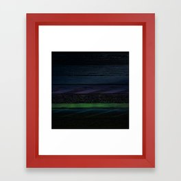 Glitch in the Night Framed Art Print