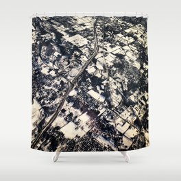 Instaspy Shower Curtain