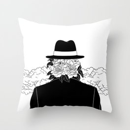 Beautiful Stranger Throw Pillow