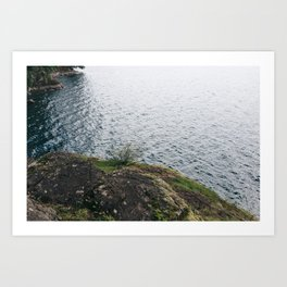 Rocks And Waters Art Print