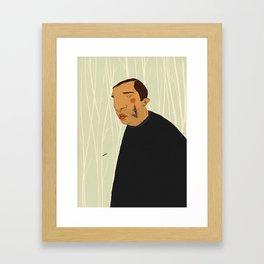 Slice Framed Art Print