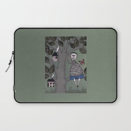 A Day for Sitting in a Tree Laptop Sleeve
