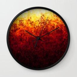Sunset Spots Wall Clock