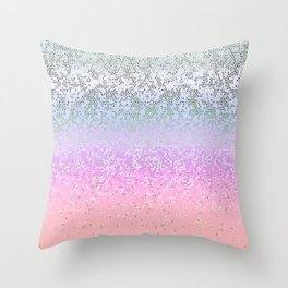 Glitter Star Dust G251 Throw Pillow