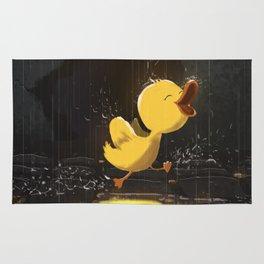 Duckling Feels Freedom Rug