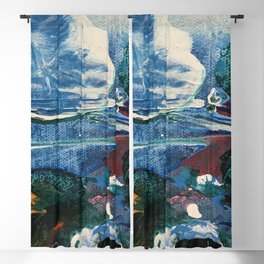 Mini World Environmental Blues 2 Blackout Curtain