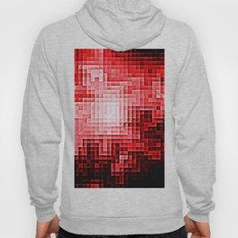 Red Nebula Pixels Hoody