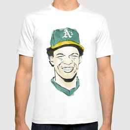 """Rickey """"The Man of Steal"""" Henderson T-shirt"""
