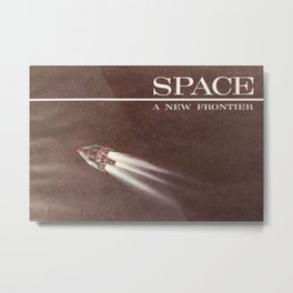Space, A New Frontier Metal Print