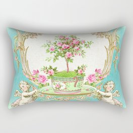 French Baroque Patisserie Tea Rectangular Pillow