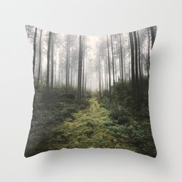 Unknown Road - landscape photography Throw Pillow