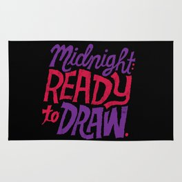 Midnight: Ready to Draw Rug
