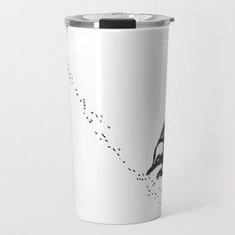 Echidna  (Tachyglossus aculeatus) Travel Mug