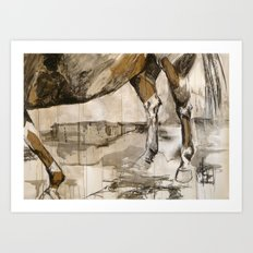 The View from Down Under Art Print
