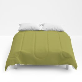 Pantone 16-0543 Golden Lime Comforters