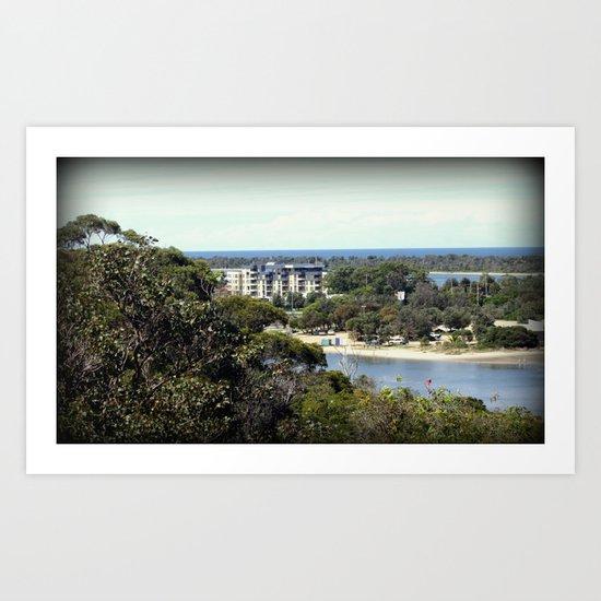 Lakes Entrance - Australia Art Print