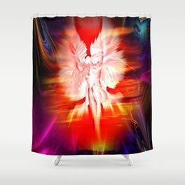 Heavenly apparition 5 Shower Curtain