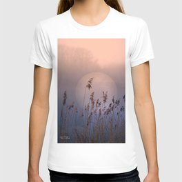 Lake with heart T-shirt